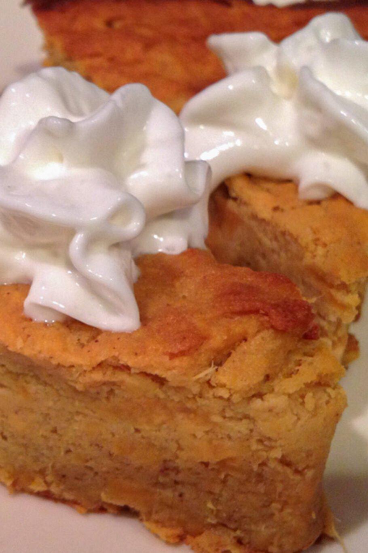 Healthy Protein Sweet Potato Pie Recipe
