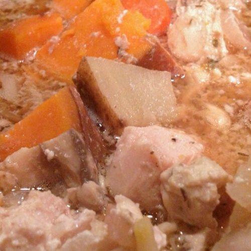 Healthy Slow Cooker Chicken Stew Recipe