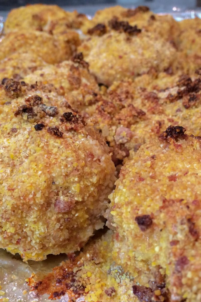Baked Bacon Cornbread Chicken Recipe