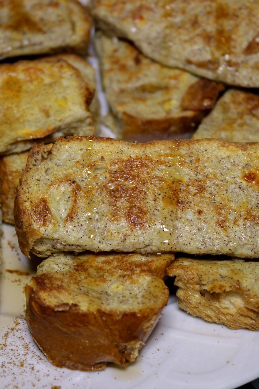 High Protein French Toast Sticks Recipe