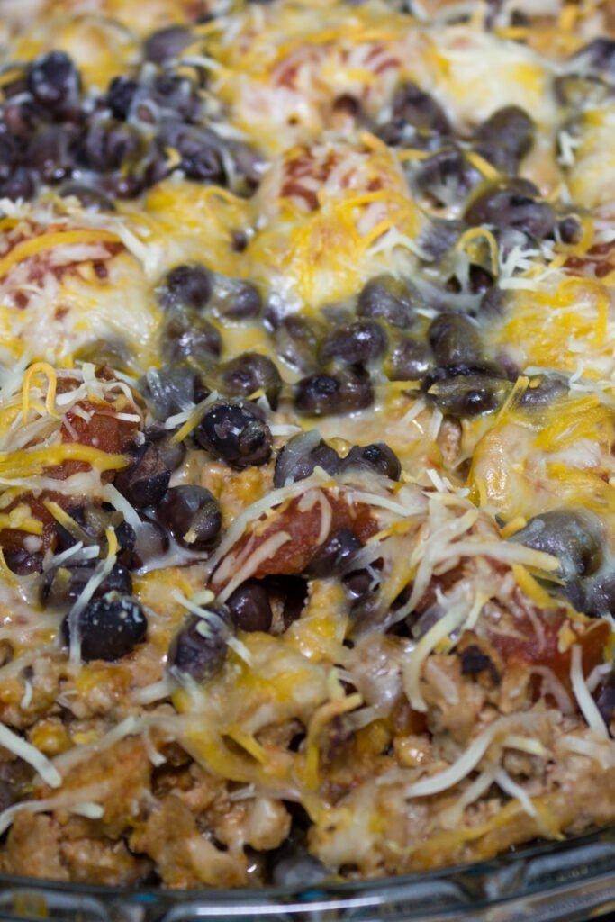Protein Packed Burrito Pie Recipe
