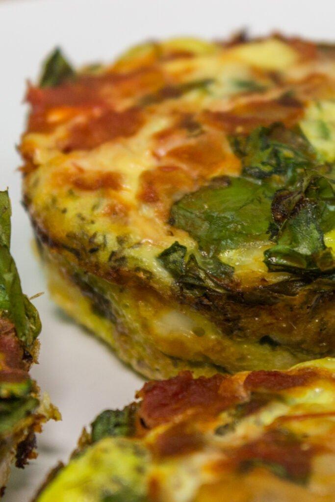 Spinach & Feta Tuna Egg Muffins Recipe