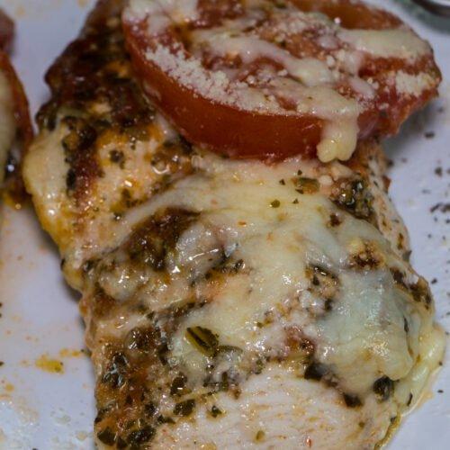 Baked Chicken Pesto Recipe