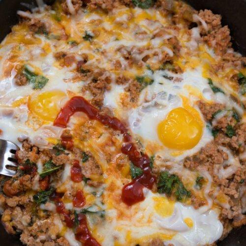 Low Carb Breakfast Skillet Recipe