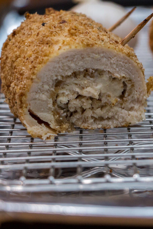 Cheesy Garlic Chicken Rollups Recipe