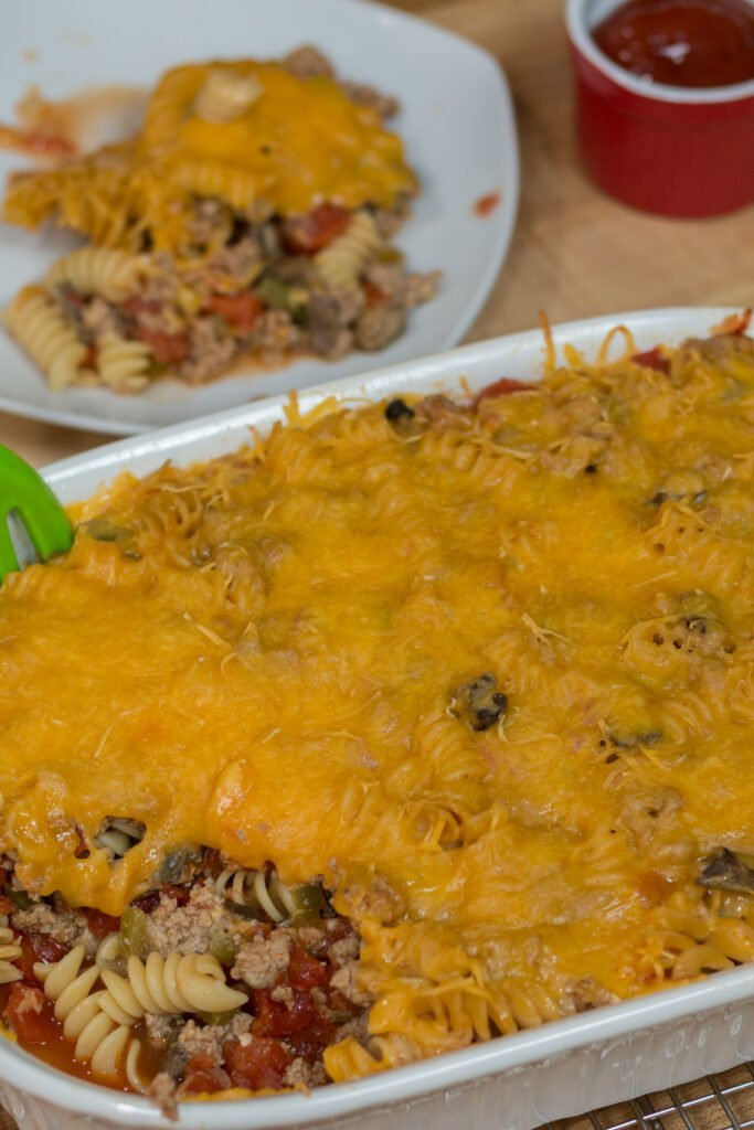 Protein Packed Cheeseburger Casserole Recipe