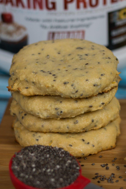 Lemon Chia Protein Cookies Recipe