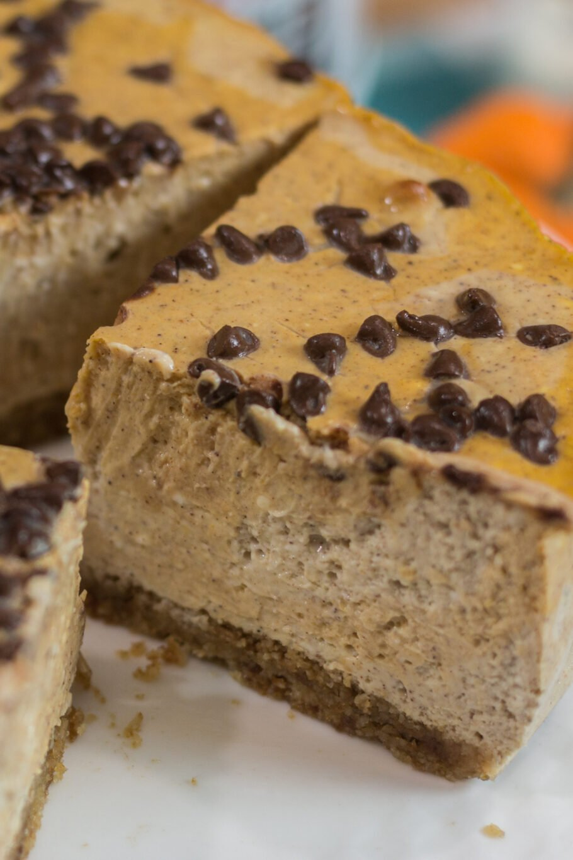 Protein Pumpkin Cheesecake with a Crust Recipe