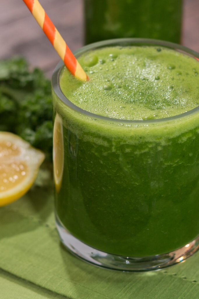 Low Calorie Green Juice Drink