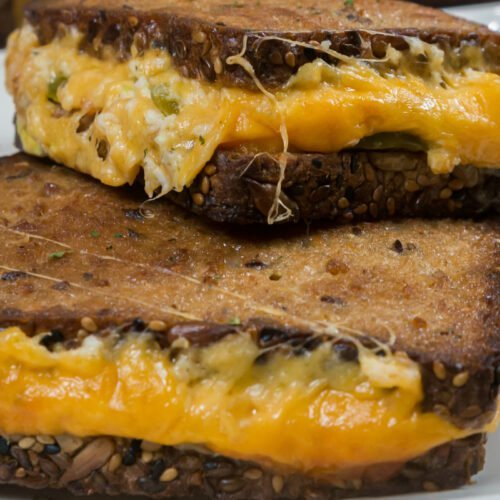 Baked Jalapeno Popper Grilled Cheese Recipe