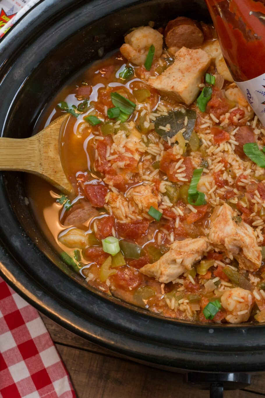 Easy Slow Cooker Jambalaya Recipe