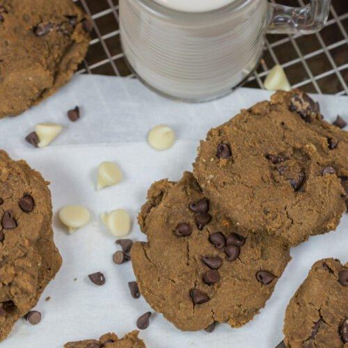 Vegan Protein Chickpea Cookies Recipe