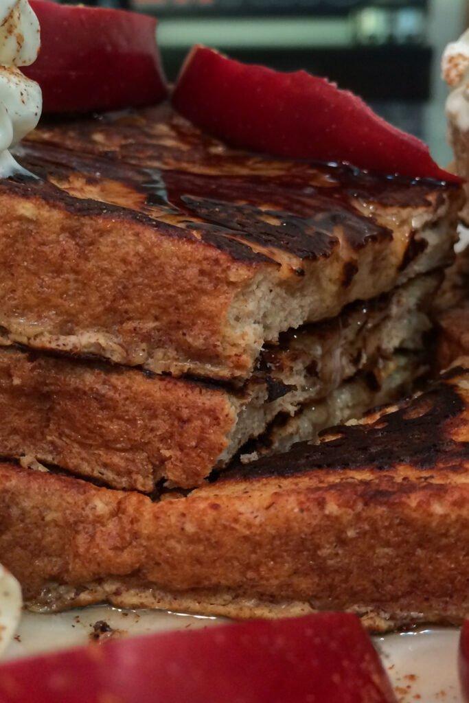 Apple Cinnamon Protein French Toast Recipe