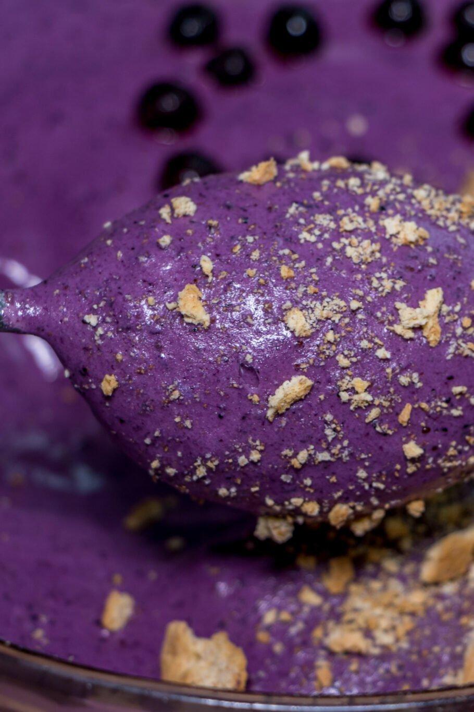 Blueberry Pie Protein Fluff Recipe