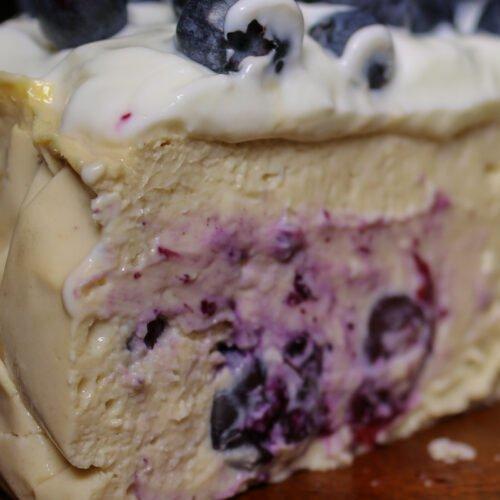 Blueberry Protein Cheesecake Recipe