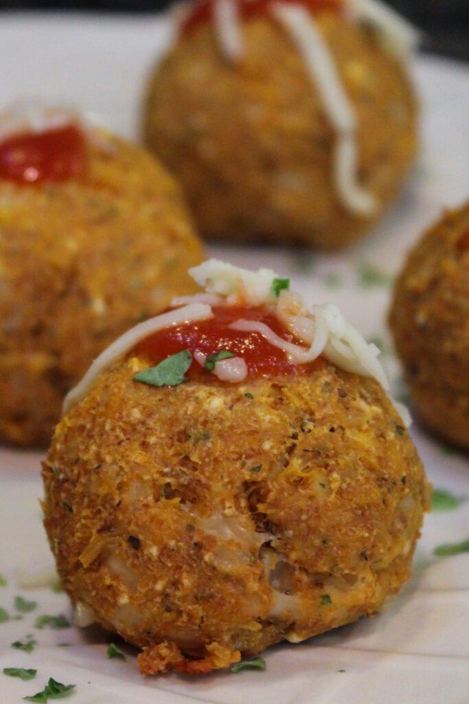 Canned Chicken Parmesan Balls Recipe