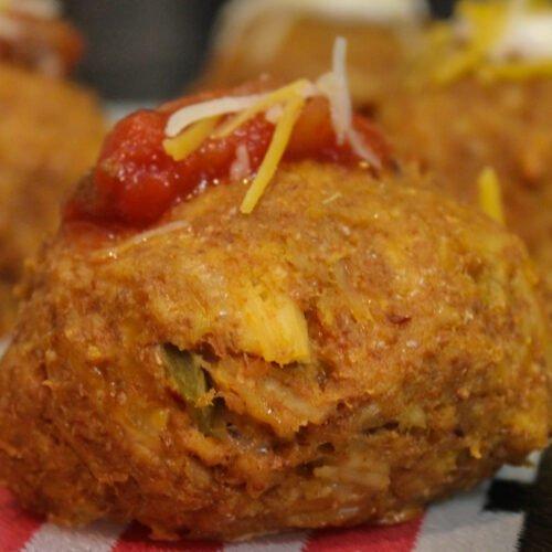 Canned Chicken Taco Balls Recipe