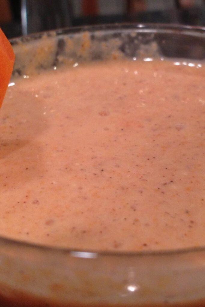 Carrot Cake Protein Shake Recipe