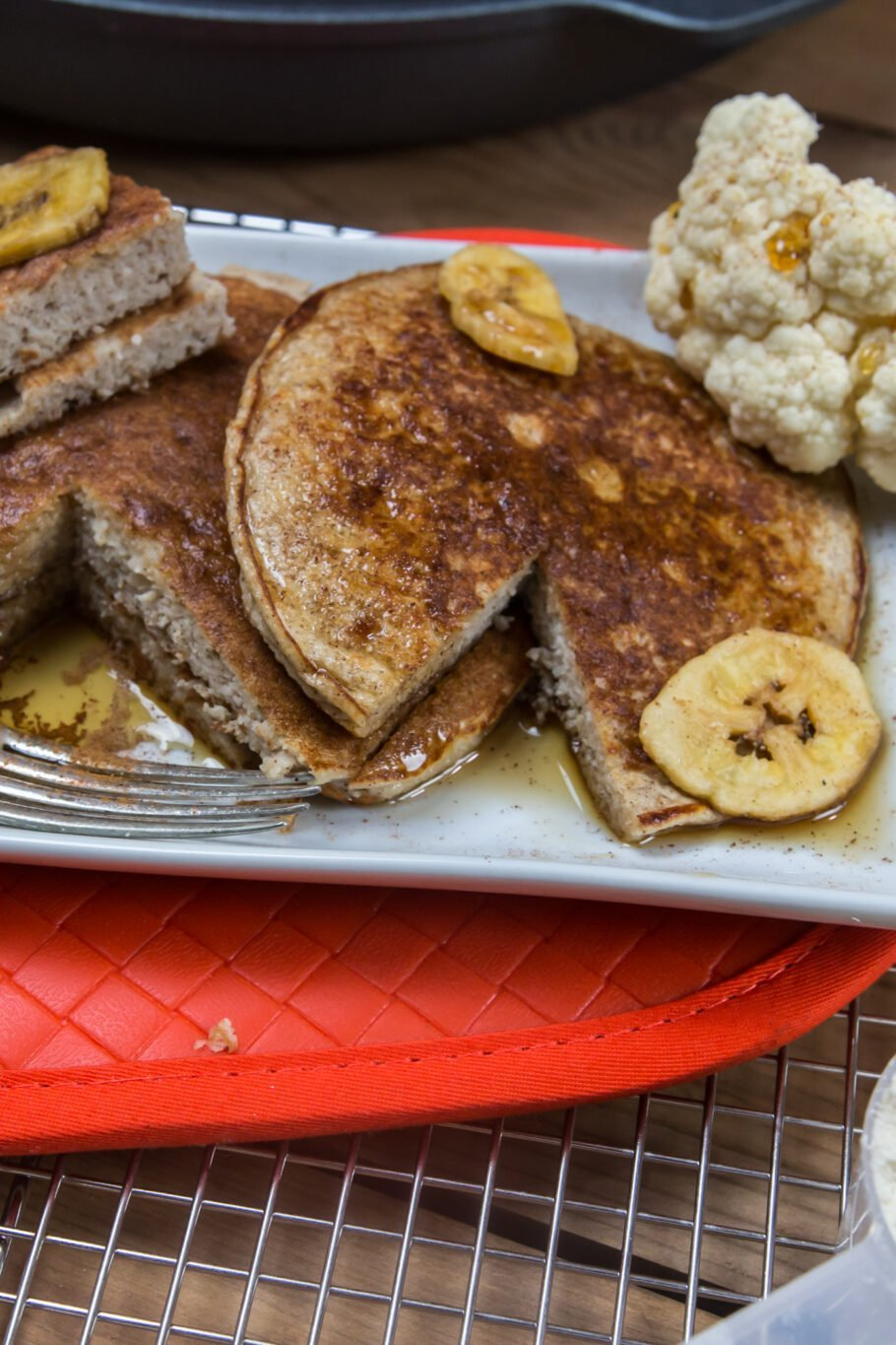 Cauliflower Protein Pancakes Recipe