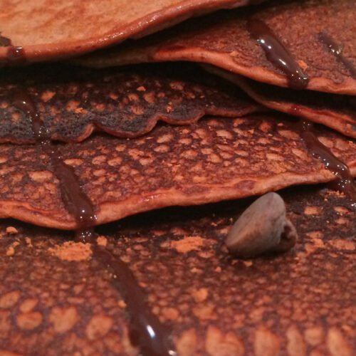 Chocolate Peanut Butter Protein Crepes Recipe