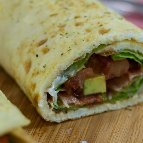 Low Carb Breakfast Egg Burrito Recipe