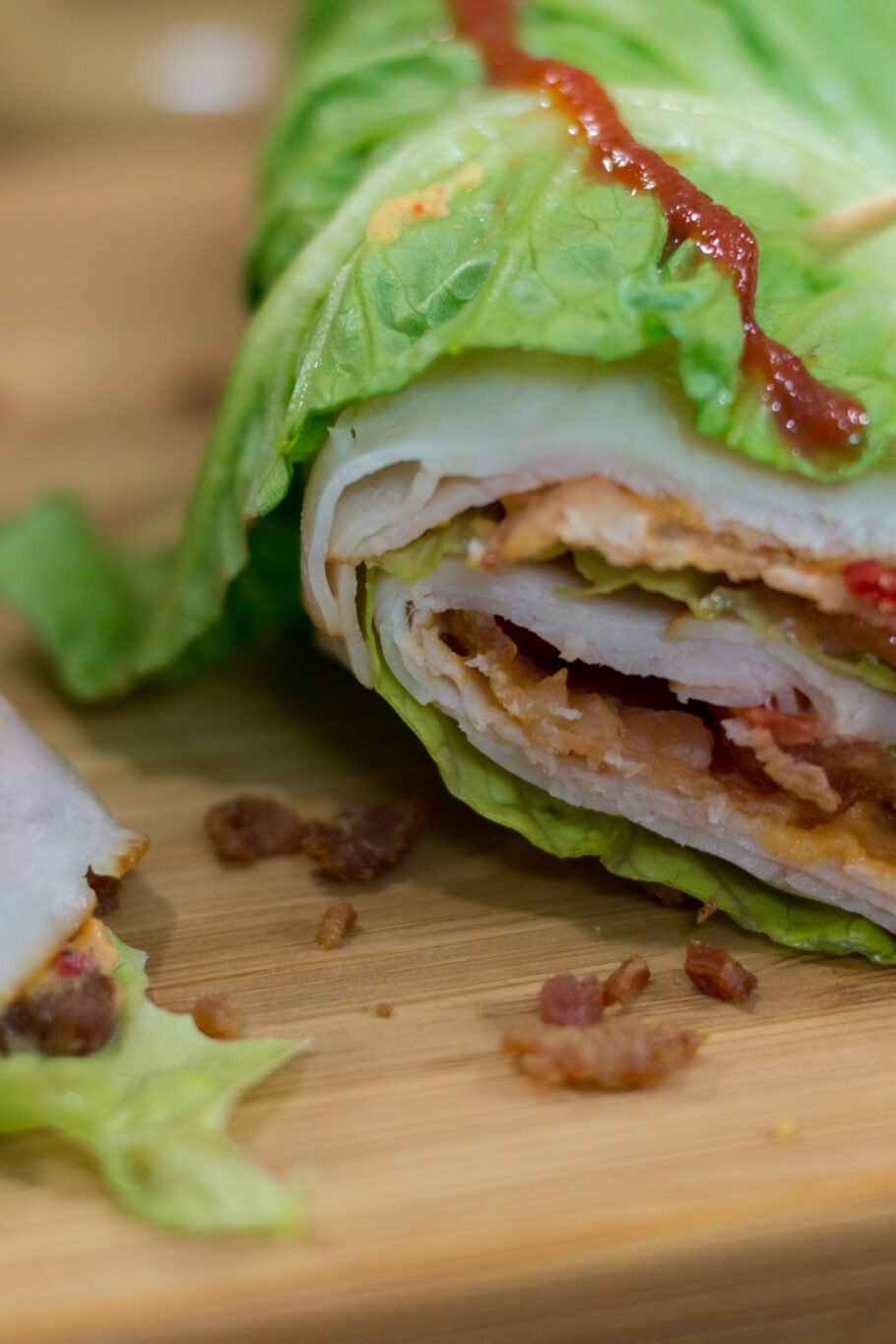 Low Carb Deli Lettuce Wraps Recipe