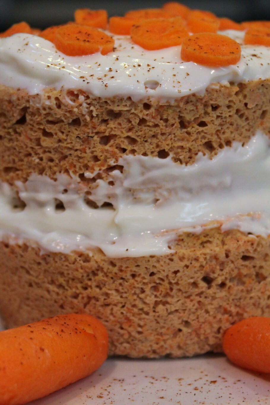 Microwave Protein Carrot Cake Recipe