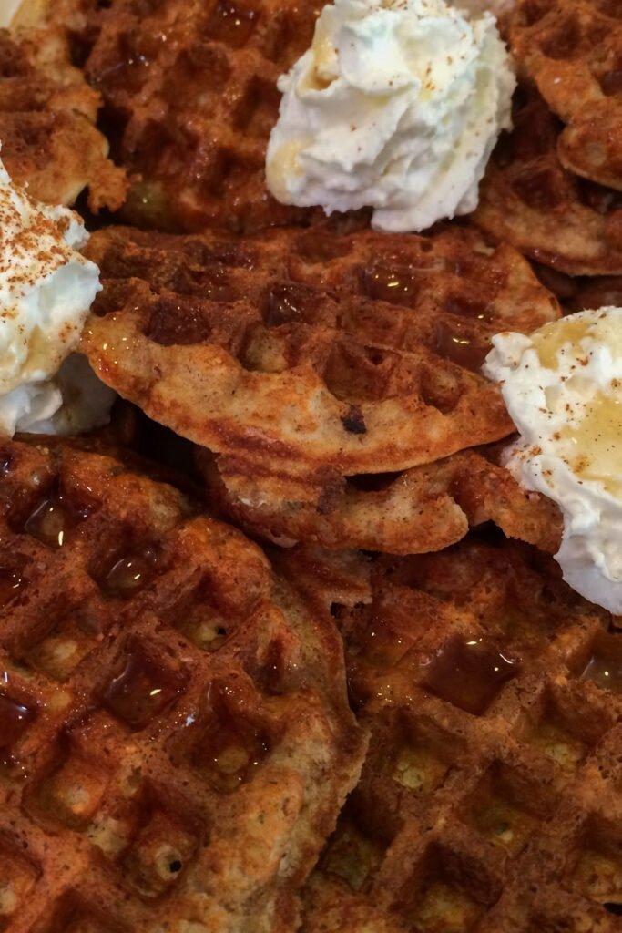 Mini Vanilla Protein Waffles Recipe