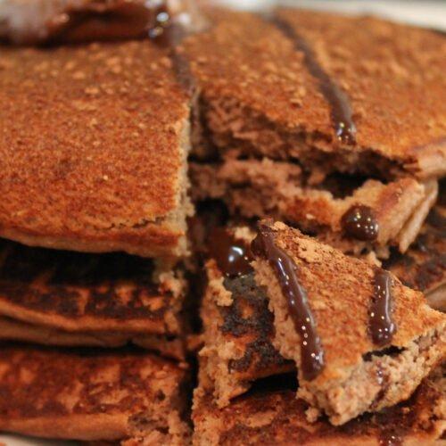 Nutella Protein Pancakes Recipe
