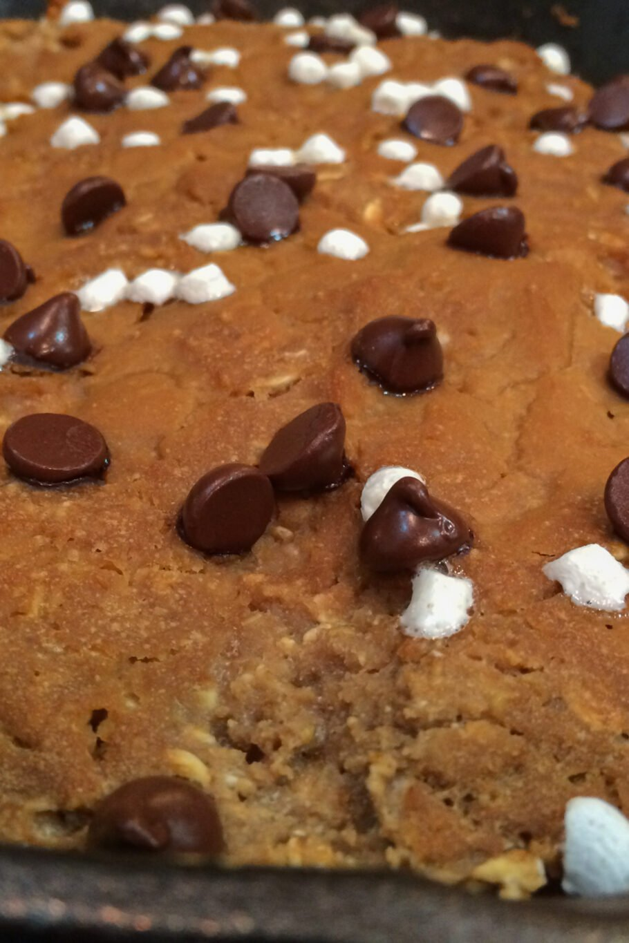Oatmeal Skillet Protein Cookie Recipe