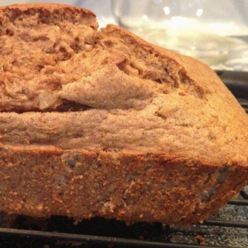 Protein Banana Nut Bread Recipe