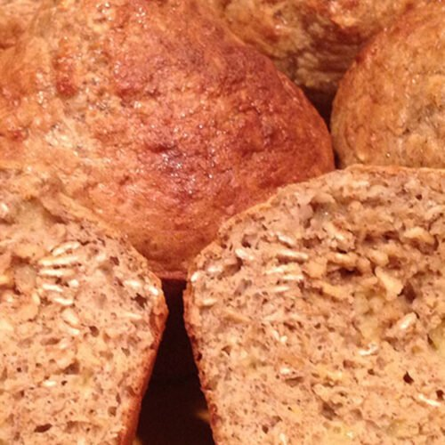 Protein Banana Oat Muffins Recipe