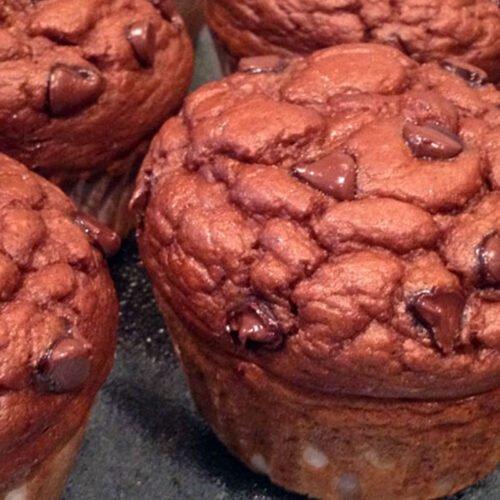 Protein Pumpkin Chocolate Chip Muffins Recipe