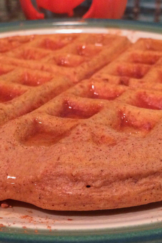 Protein Pumpkin Waffles Recipe