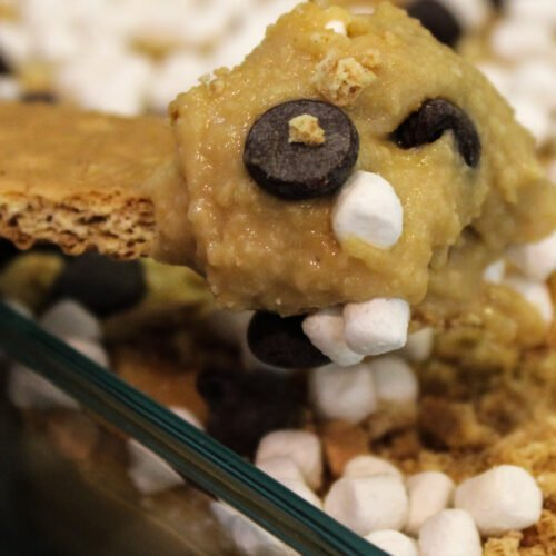 Protein S'mores Cookie Dough Dip Recipe