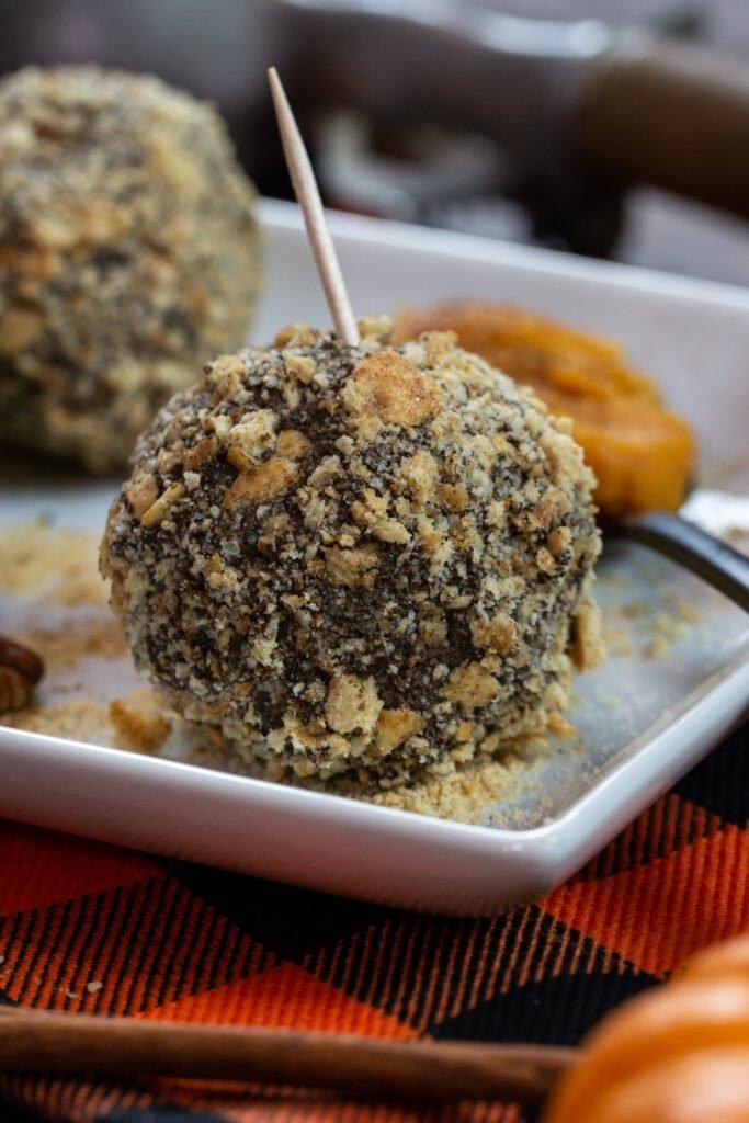 Pumpkin Cheesecake Protein Balls Recipe
