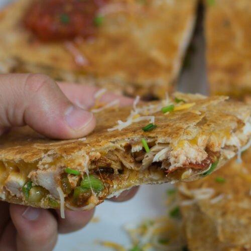 Rotisserie Chicken Quesadillas Recipe