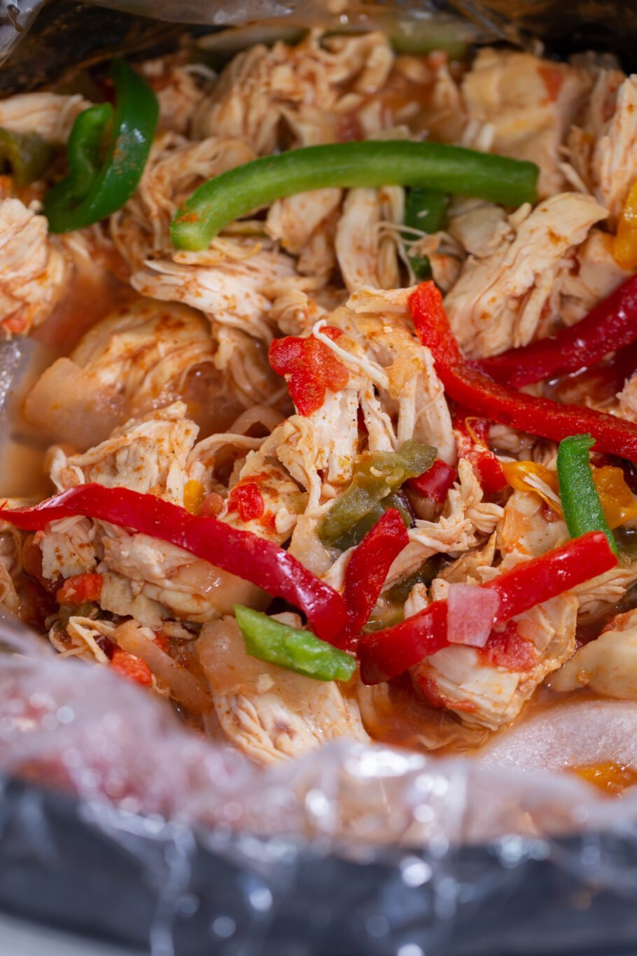 Slow Cooker Chicken Fajitas Recipe