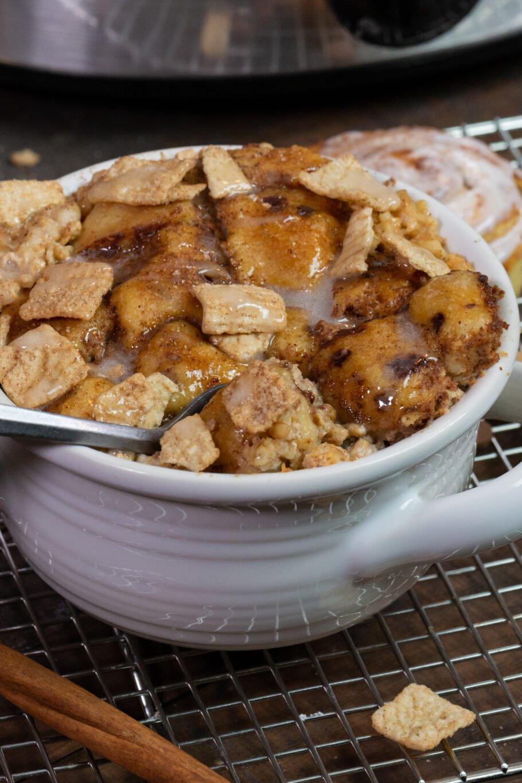 Slow Cooker Steel Cut Cinnamon Buns Recipe