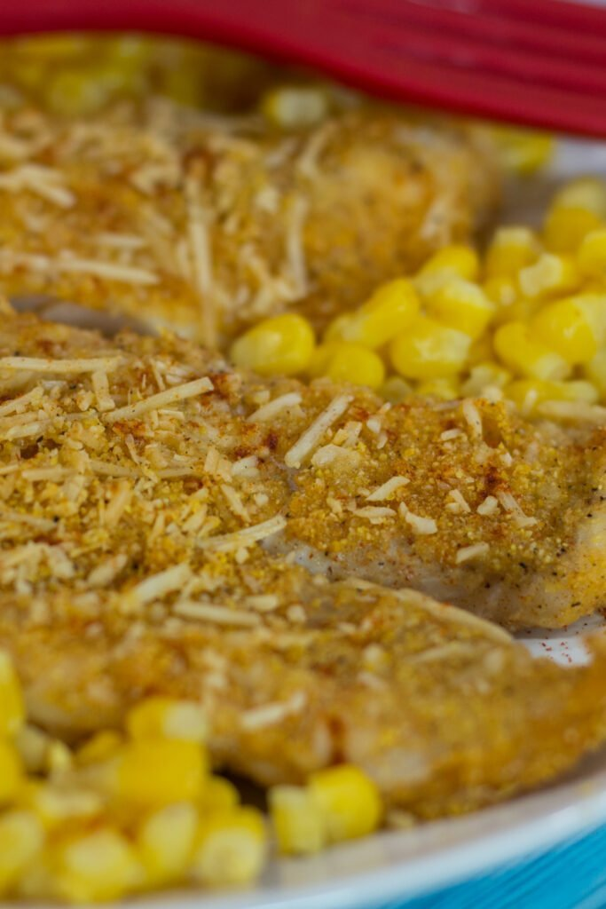 Southwestern Crusted Fish Recipe