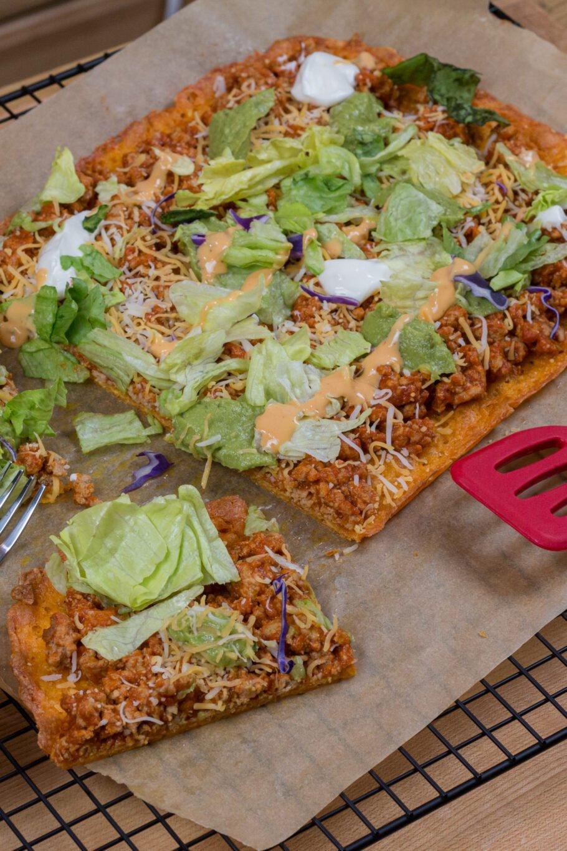Taco Keto Pizza Recipe