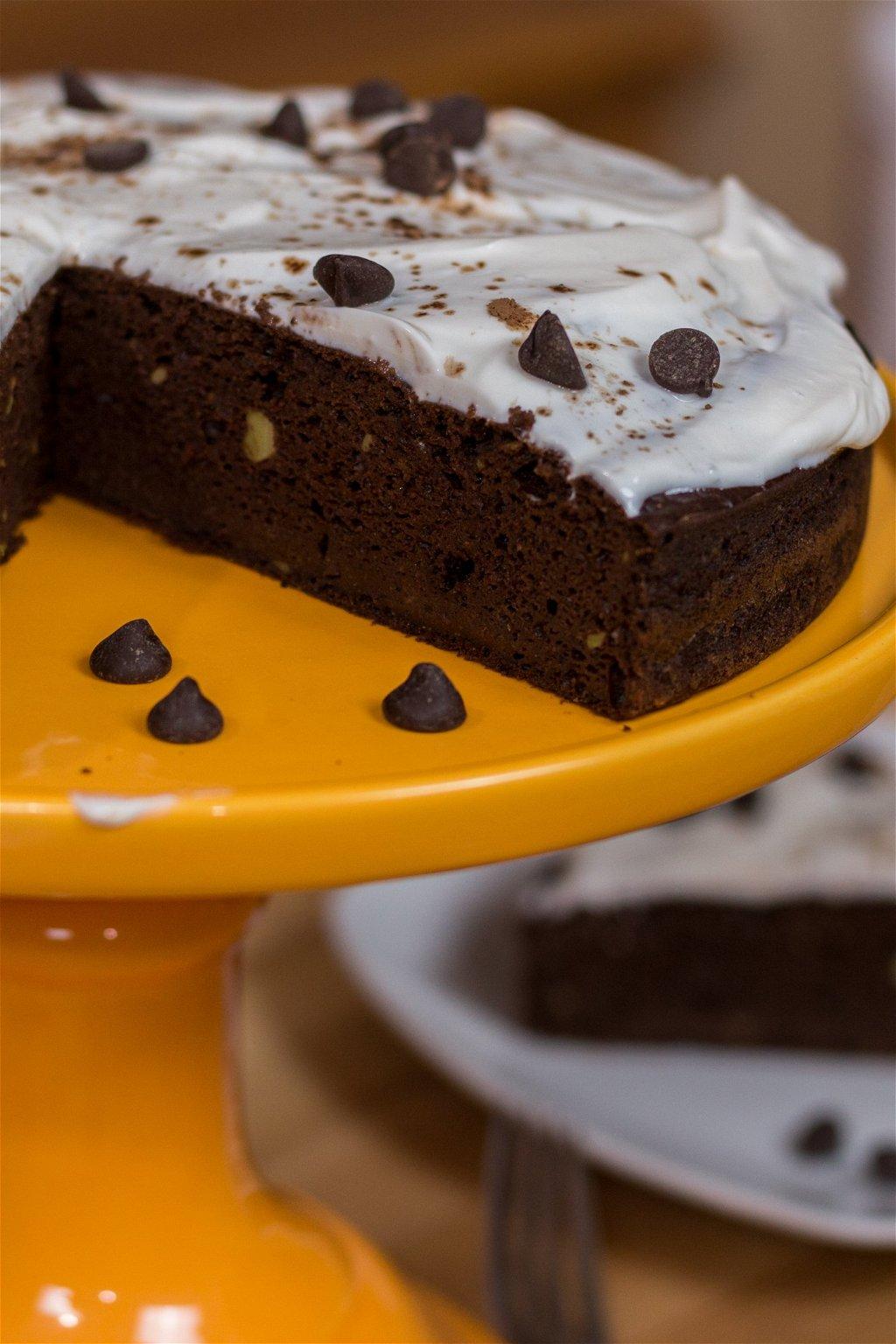 Healthy Triple Chocolate Avocado Cake Recipe The Protein Chef