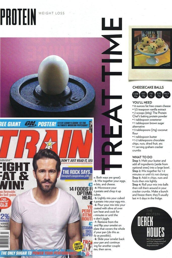 The Protein Chef Train Magazine
