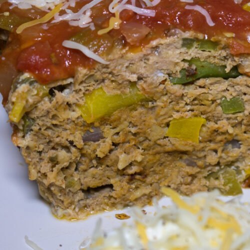 Healthy Fajita Meatloaf Recipe