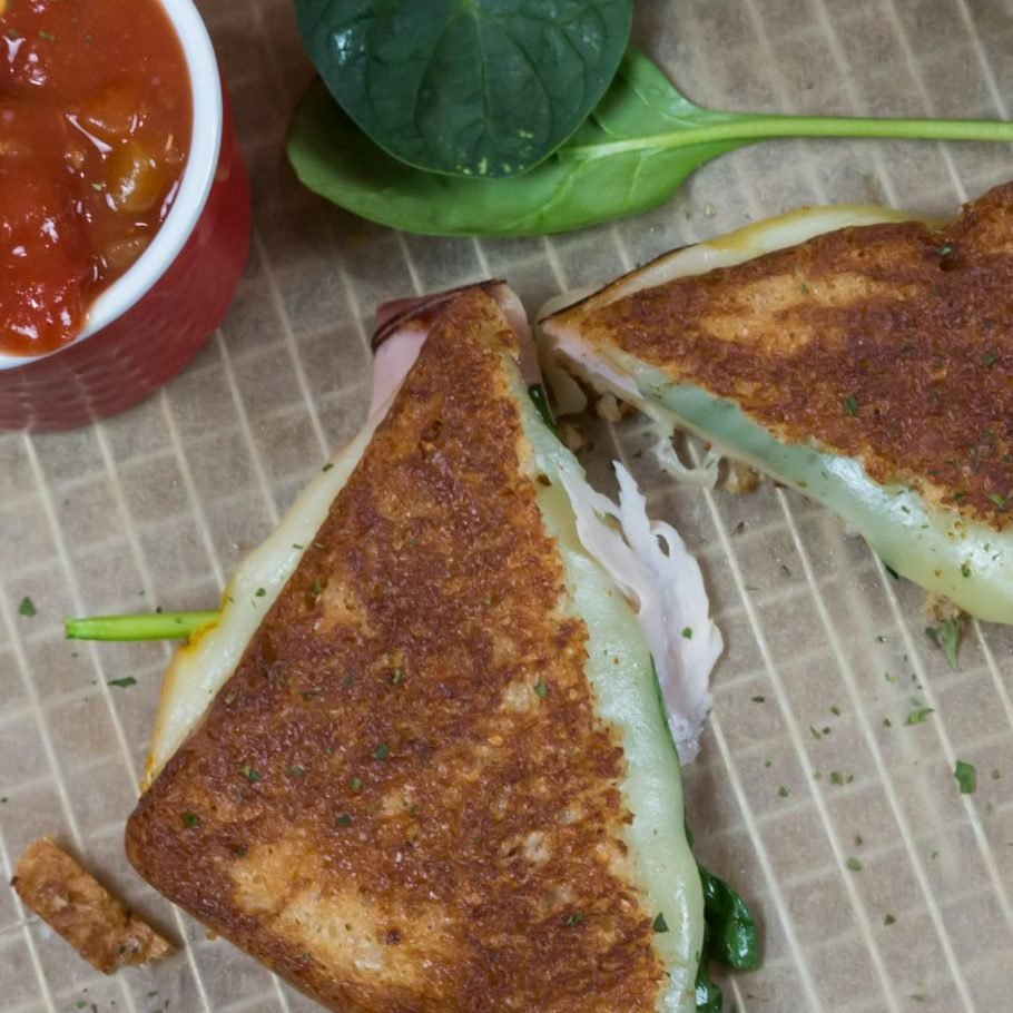 Easy Ham & Grilled Cheese Recipe