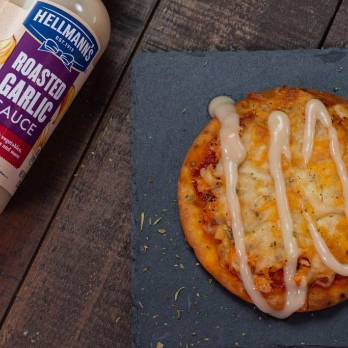 Quick Flatbread Pizza Slate